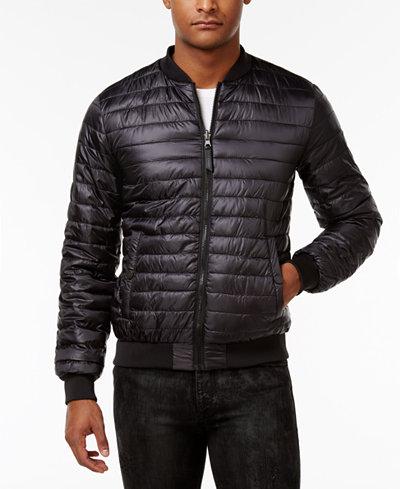 Versace Men's Lightweight Puffer Jacket - Coats & Jackets - Men ...