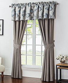 """CLOSEOUT! Blossom 100"""" x 84 """" Pole Top Pair of Window Panels"""
