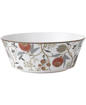 Wedgwood Pashmina rnd serving bowl 10.0 iconic, Grey 508974