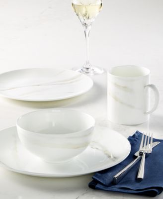 The beautiful illusion of marble applied to fine bone china makes the Vera Wang Wedgwood Venato Imperial dinnerware collection truly stunning. & Vera Wang Wedgwood Venato Imperial Dinnerware Collection ...