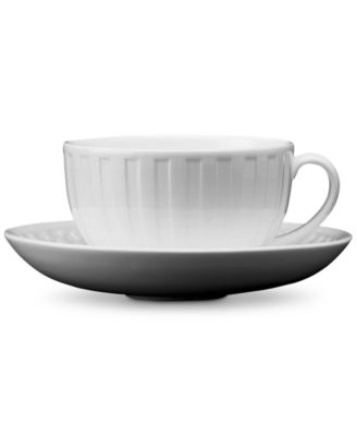 Dinnerware, Night and Day Fluted Teacup