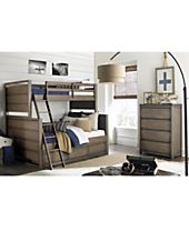 Big Sky Wendy Bellissimo Kids Bunk Bedroom Furniture Collection
