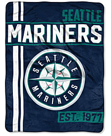 "Northwest Company Seattle Mariners Micro Raschel 46x60 ""Walk Off"" Blanket"