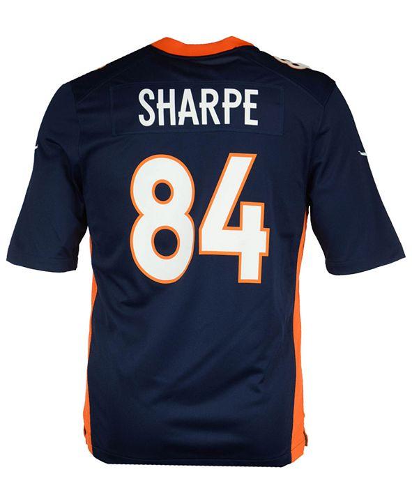 Nike Men's Shannon Sharpe Denver Broncos Retired Game Jersey