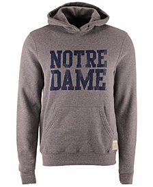 Retro Brand Men's Notre Dame Fighting Irish Tri-Blend Fleece Hoodie