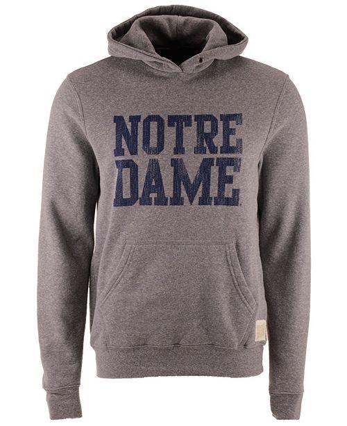 ... Retro Brand Men s Notre Dame Fighting Irish Tri-Blend Fleece Hoodie ... 7067e6337