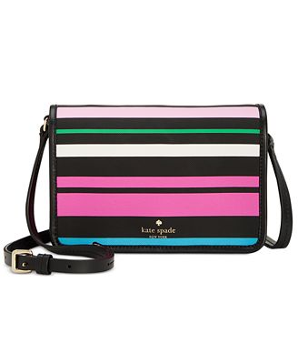 kate spade new york Harding Street Fiesta Stripe Renee Crossbody