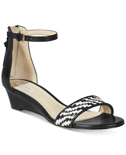 7008921cf58 Cole Haan Genevieve Weave Wedge Sandals   Reviews - Sandals ...
