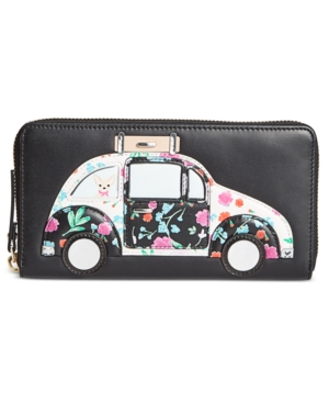 Click here for kate spade new york Scenic Route Car Applique Lacey Wallet prices