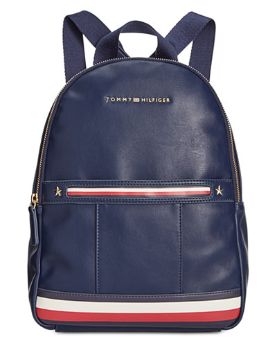Tommy Hilfiger Larissa Smooth Small Dome Backpack