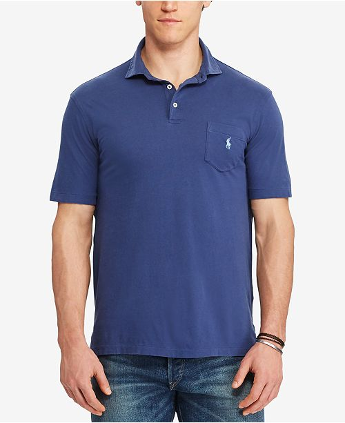 f8f22e23 Polo Ralph Lauren. Men's Big & Tall Jersey Polo. 2 reviews. main image