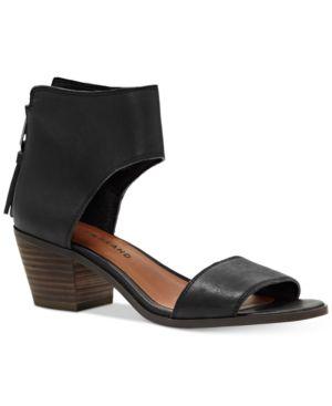 Lucky Brand Barbina Two-Piece Block-Heel Sandals Women