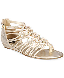 G by GUESS Jonsie Strappy Flat Sandals