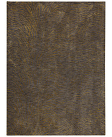 Karastan Enigma Spectral Brushed Gold Area Rug Collection