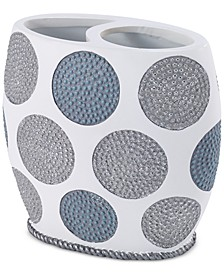 Dotted Circle Toothbrush Holder