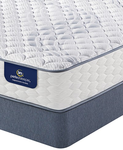 Serta Perfect Sleeper® Graceful Mist 12 Extra Firm Mattress Set- Queen