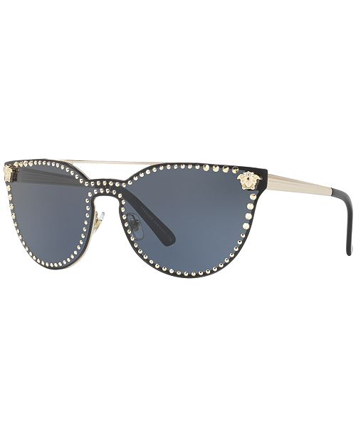 be41964d7fc8 Versace Sunglasses, VE2177 & Reviews - Sunglasses by Sunglass Hut ...