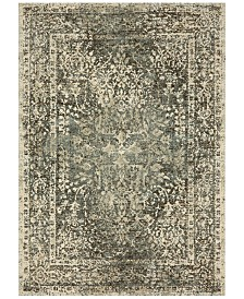 Karastan Touchstone Virginia Langley Sanctuary Sandstone 8' x 11' Area Rug