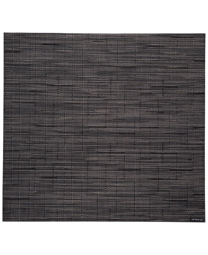 """Chilewich - Bamboo Woven Vinyl Placemat Squared 14x13"""""""