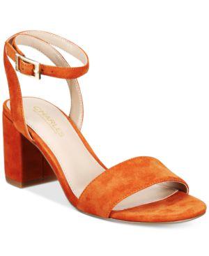 Charles By Charles David Keenan Block-Heel Sandals Women