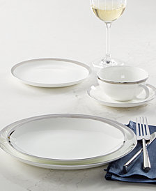 Mikasa  Blakeslee Platinum Dinnerware Collection