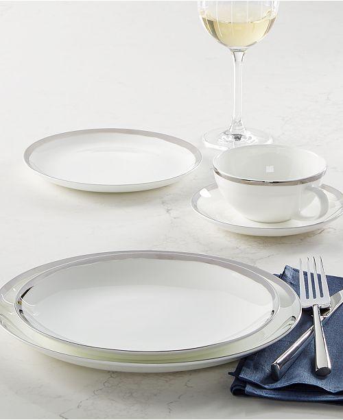 Mikasa   Blakeslee Platinum Dinnerware Collection