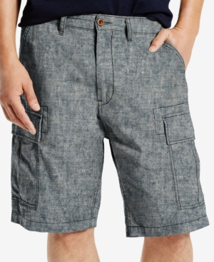 eda8e45a15 LEVI'S MEN'S BIG AND TALL CARRIER CARGO SHORTS, LIGHT BLUE CHAMBRAY ...