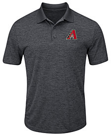 Majestic Men's Arizona Diamondbacks First Hit Polo Shirt