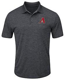 Majestic Men's Arizona Diamondbacks First Hit Polo Shirt