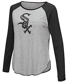 Touch by Alyssa Milano Women's Chicago White Sox Line Drive Long Sleeve T-Shirt
