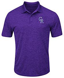 Majestic Men's Colorado Rockies First Hit Polo Shirt