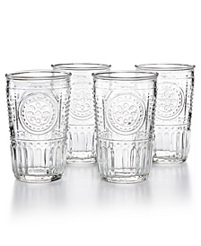 Romantic 4-Pc. Tumbler Set