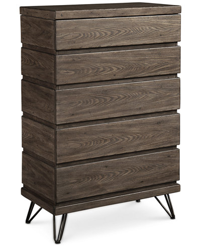 Closeout Orion 5 Drawer Chest Created For Macy 39 S Furniture Macy 39 S