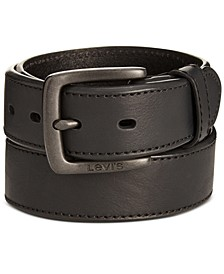 Men's Beveled-Edge Belt