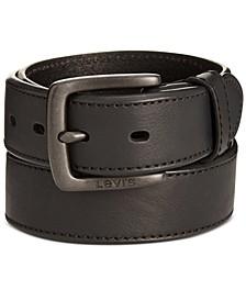 Men's Beveled-Edge Belt