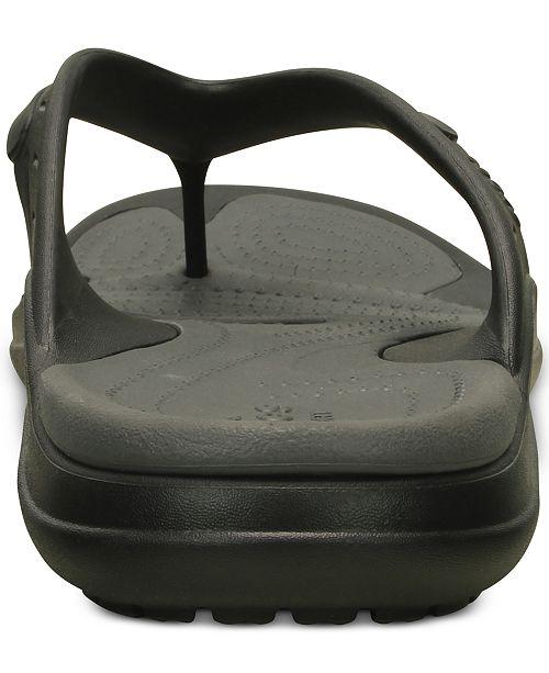 dfc4aafa2567e4 Crocs Men s Modi Sport Flip-Flops   Reviews - All Men s Shoes - Men ...