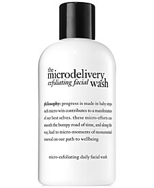 philosophy Microdelivery Exfoliating Facial Wash, 8 oz