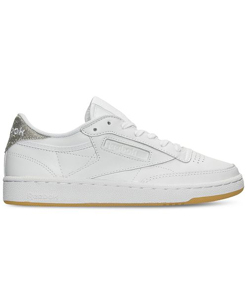 57cba5fe9f1 Reebok Women's Club C 85 Diamond Casual Sneakers from Finish Line ...