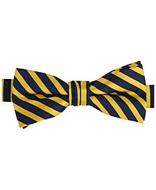 Tommy Hilfiger Repp Stripe Bowtie, Big Boys