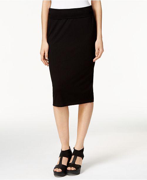 c4da0a408 Eileen Fisher Stretch Jersey Pencil Skirt, Regular & Petite & Reviews ...