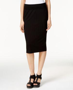 Eileen Fisher System Stretch Jersey Pencil Skirt, Regular & Petite thumbnail