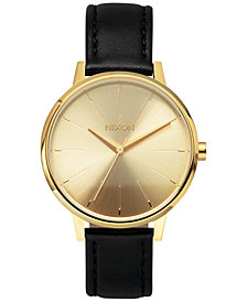 Nixon Women's Kensington Leather Strap Watch 37mm A108