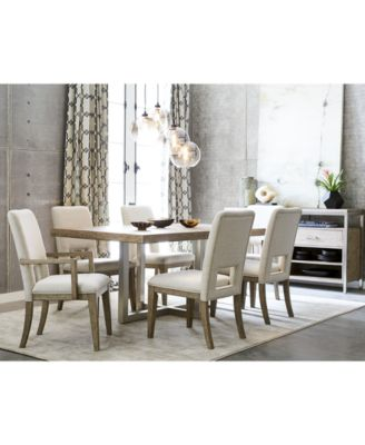 Furniture Altair Dining Furniture Set, 9 Pc. (Dining Table, 6 Side Chairs U0026  2 Arm Chairs), Created For Macyu0027s   Furniture   Macyu0027s