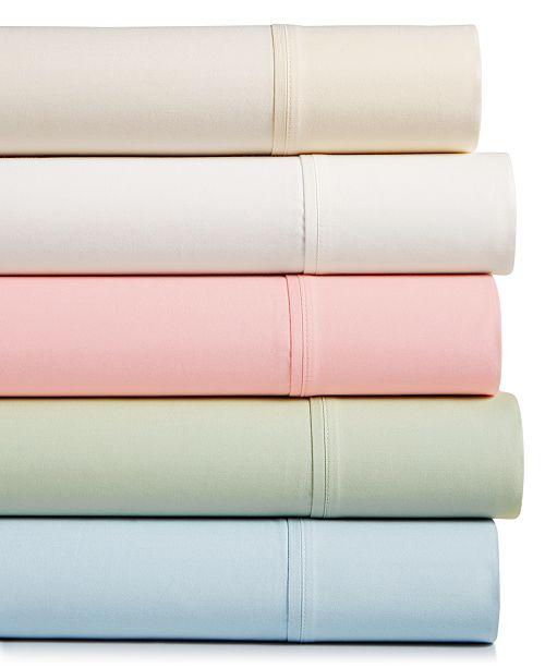 Sunham CLOSEOUT! Bleecker 4-pc. King Sheet Set, 410 Thread Count Pure Cotton, Created for Macy's