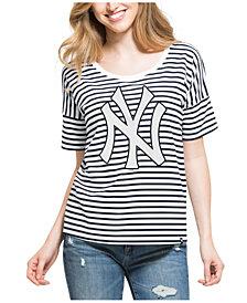 '47 Brand Women's New York Yankees Coed Stripe T-Shirt