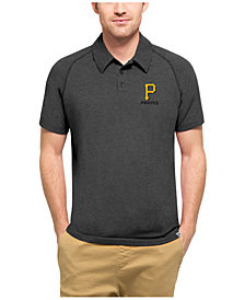 '47 Brand Men's Pittsburgh Pirates  Blend Polo