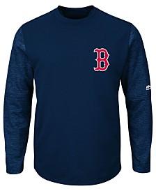 Majestic Men's Boston Red Sox AC On-Field Tech Fleece Pullover
