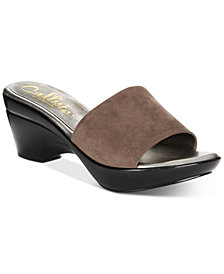Athena Alexander by Callisto Lima Slide Sandals