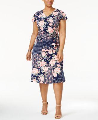 Casual Plus Size Dresses - Macy's