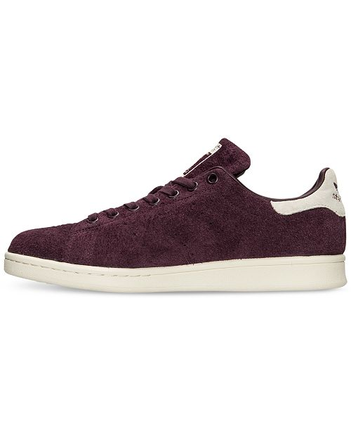 891e7f3a68069 ... adidas Men s Stan Smith Bounce Suede Casual Sneakers from Finish ...